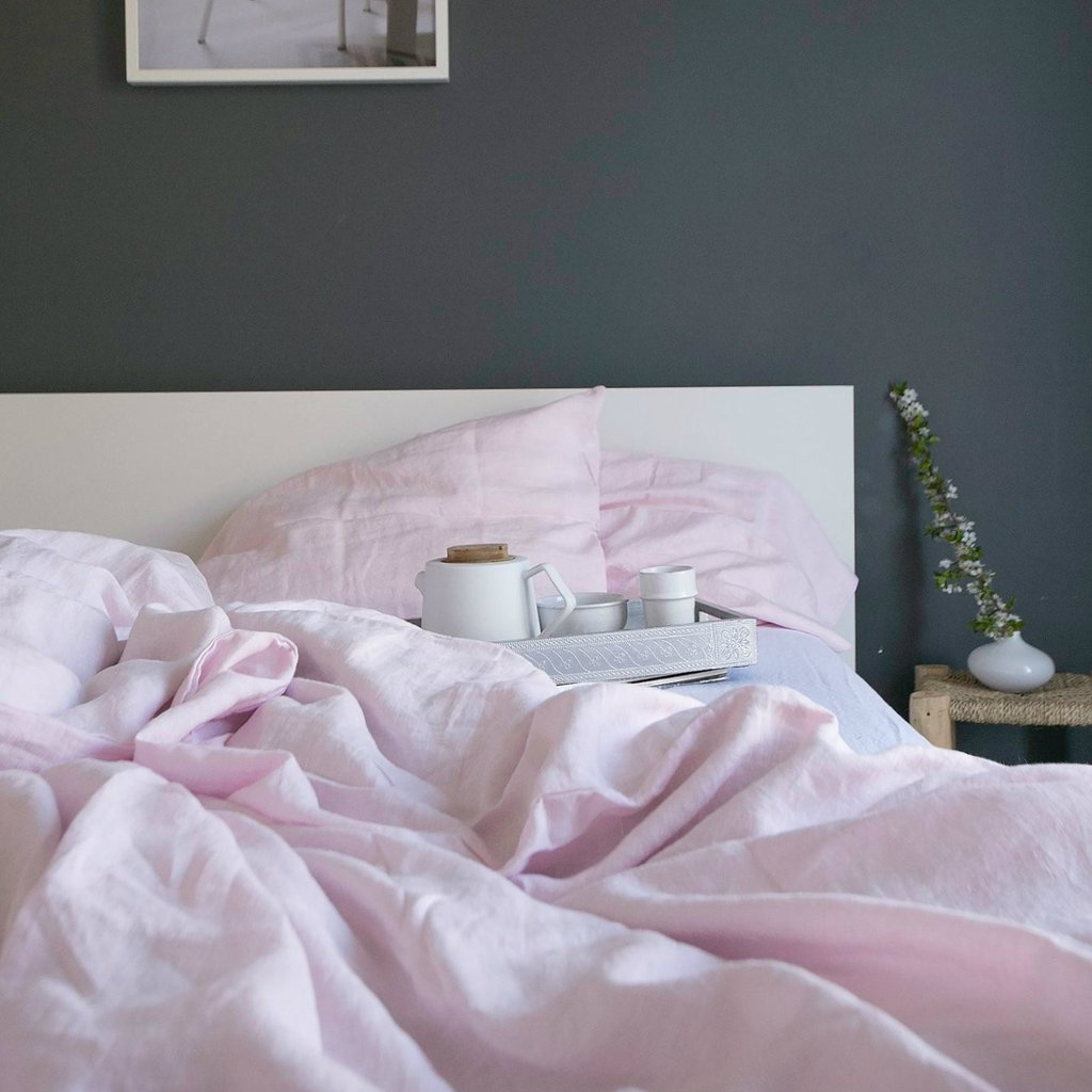 Piglet - Piglet's collection of bed linen focuses on three carefully chosen colours in beautiful subtle tones. The blush pink has to be one of the prettiest pinks we've come across and is complemented by a minimal white and stormy grey for you to choose from. To be honest, they had us at the name let alone! Prices from £129.00 for a double duvet cover.www.pigletinbed.com