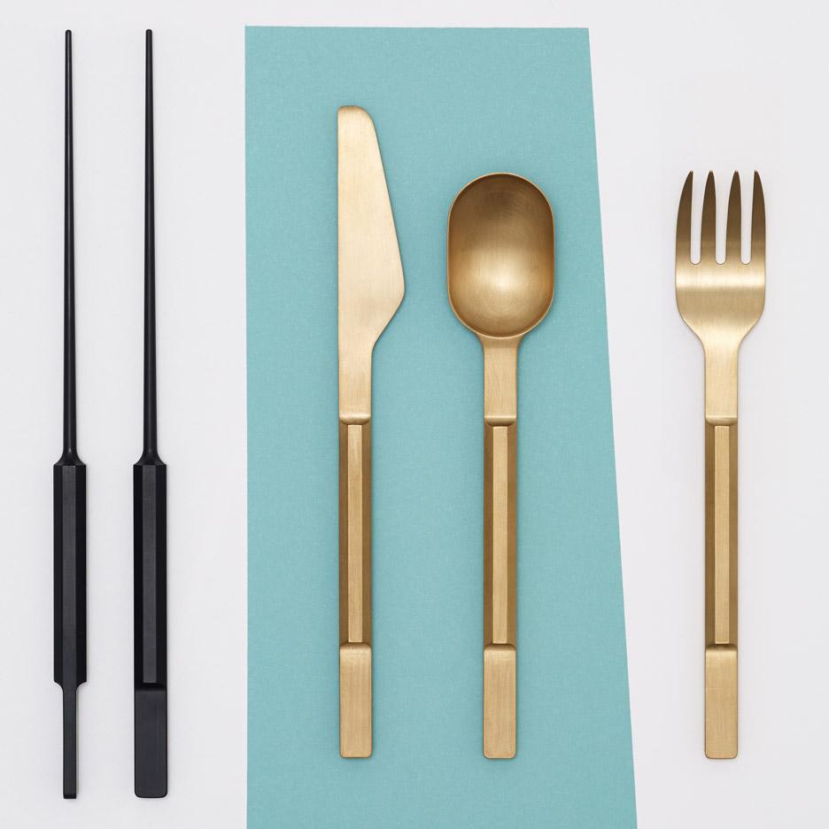 Koichi Futatsumata cutlery design via   Dezeen