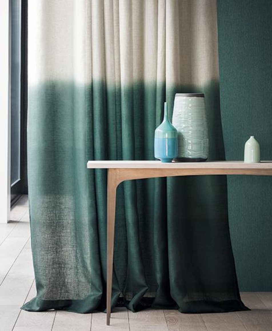 Ombre Tie Dye Curtain from Etsy
