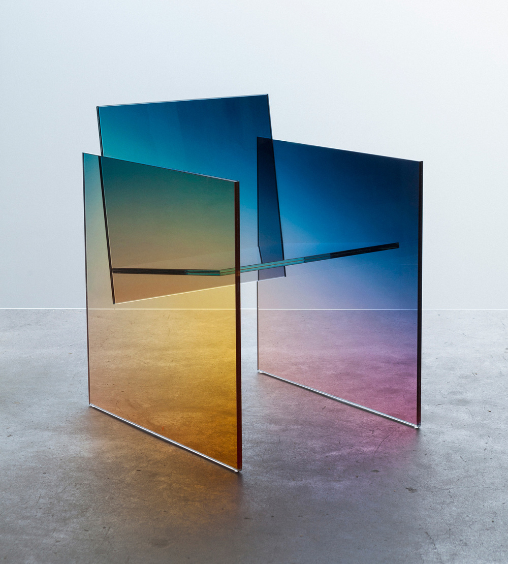 Ombré Glass Chair - by Germans Ermics