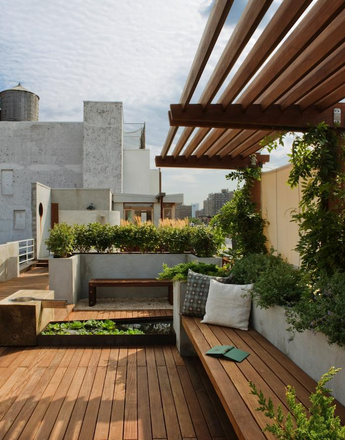 7. - New York rooftop garden via Remodelista