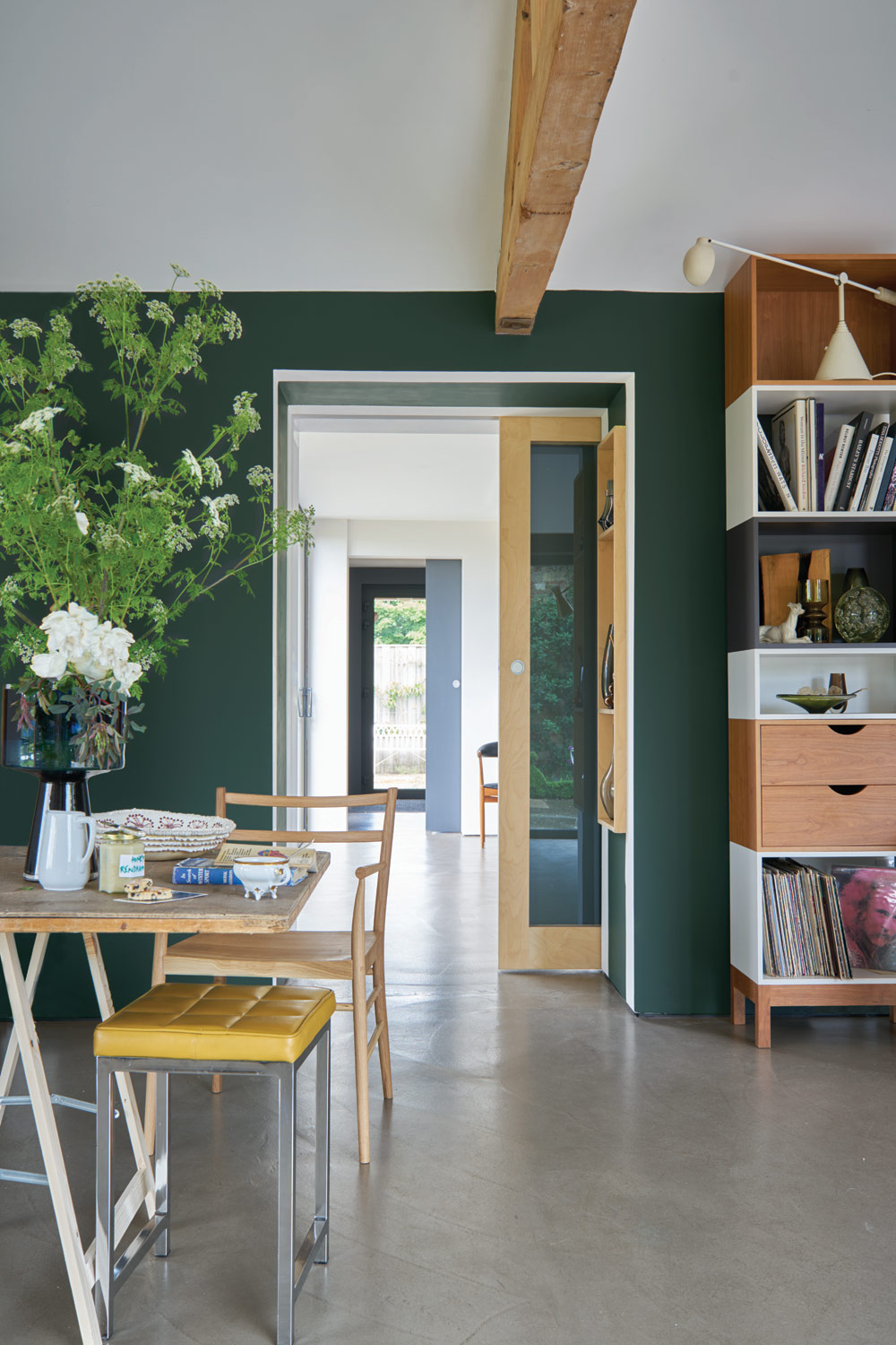 4. Farrow & Ball -Studio Green - Next in our roundup of paint trends is the darkest of Farrow & Ball's green hues, Studio Green. We love the contemporary update of this typically heritage hue, one that will create depth in contemporary spaces and also bring to life period features. Although the darkness of this colour may initially be overwhelming, Farrow & Ball explain that the rich pigments respond extraordinarily to different lights in the home, appearing lighter and greener in brighter situations and almost black in darker corners and less well lit spaces. This ensures that it will never look flat or too harsh in tone, and we love it!£43.50 for 2.5L Estate Emulsionwww.farrow-ball.com
