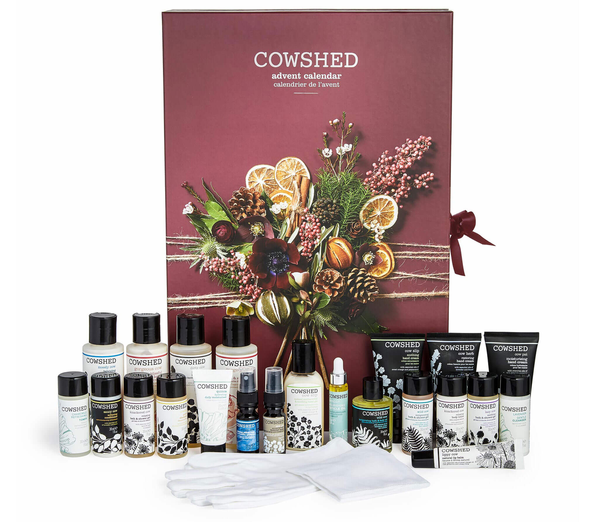 Enjoy some 'me time' - Treat yourself to Cowshed's deluxe Advent Calendar for the ultimate beauty indulgence. This particular calendar is filled with 24 beauty essentials, designed to pamper your hands, hair, face and body in preparation for the party season, and to help you unwind afterwards. From the Wild Cow Bath Oil to the Soothing Cow Body Lotion, each door provides a miniature Cowshed product for you to enjoy. It's already out of stock at John Lewis, but you can still buy it here for £90.