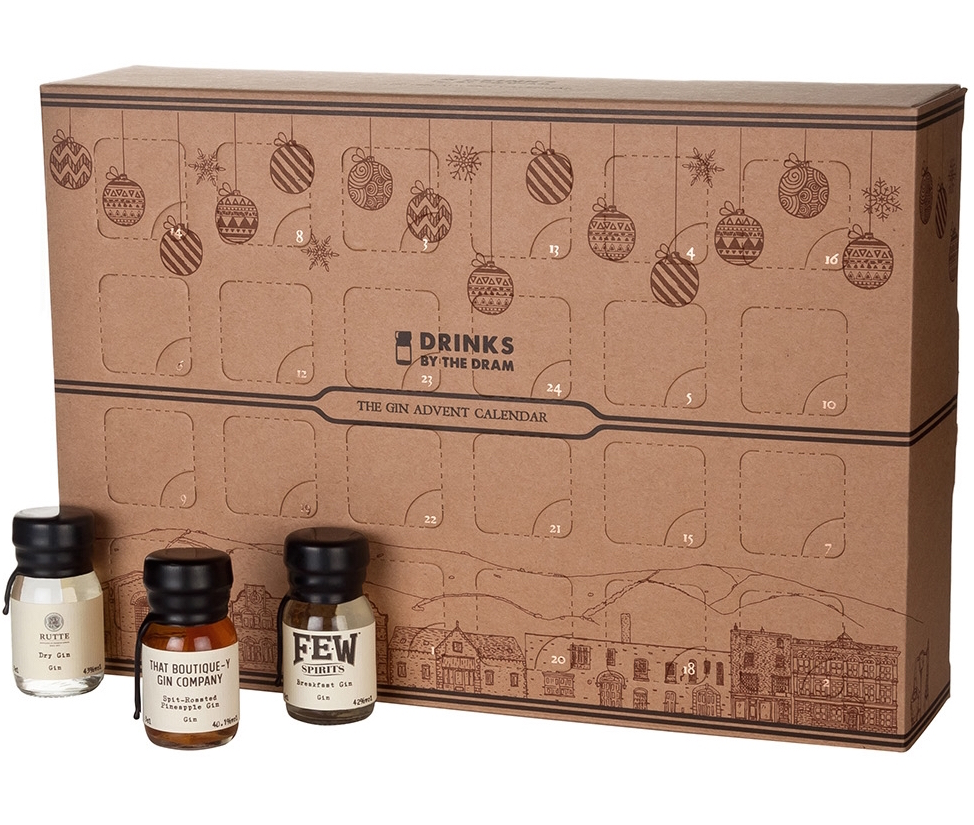 Tipple your fancy - With a very merry Christmas in mind, Drinks By The Dram have introduced their Ginvent Calendar, containing a different 30ml sample of gin behind each of the 24 doors. The sample bottles are the perfect size to mix yourself an evening G&T, or indulge in a festive cocktail. If gin isn't your thing, they also offer a Scotch whisky, rum or bourbon version. Available at Harvey Nichols, shop the collection here from £135.