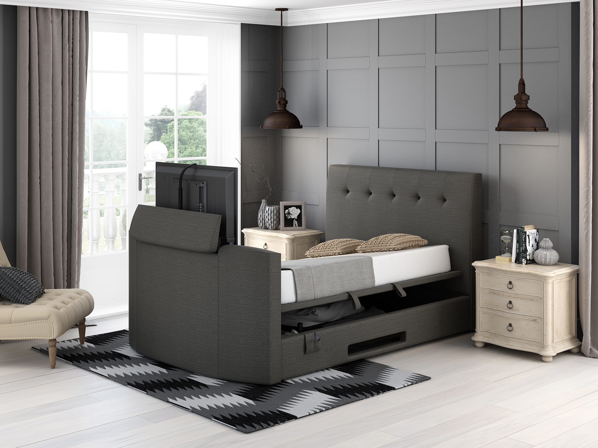 Bensons for Beds // 20% off all TV beds - PROMO CODE: No code required>> Shop at Bensons for Beds