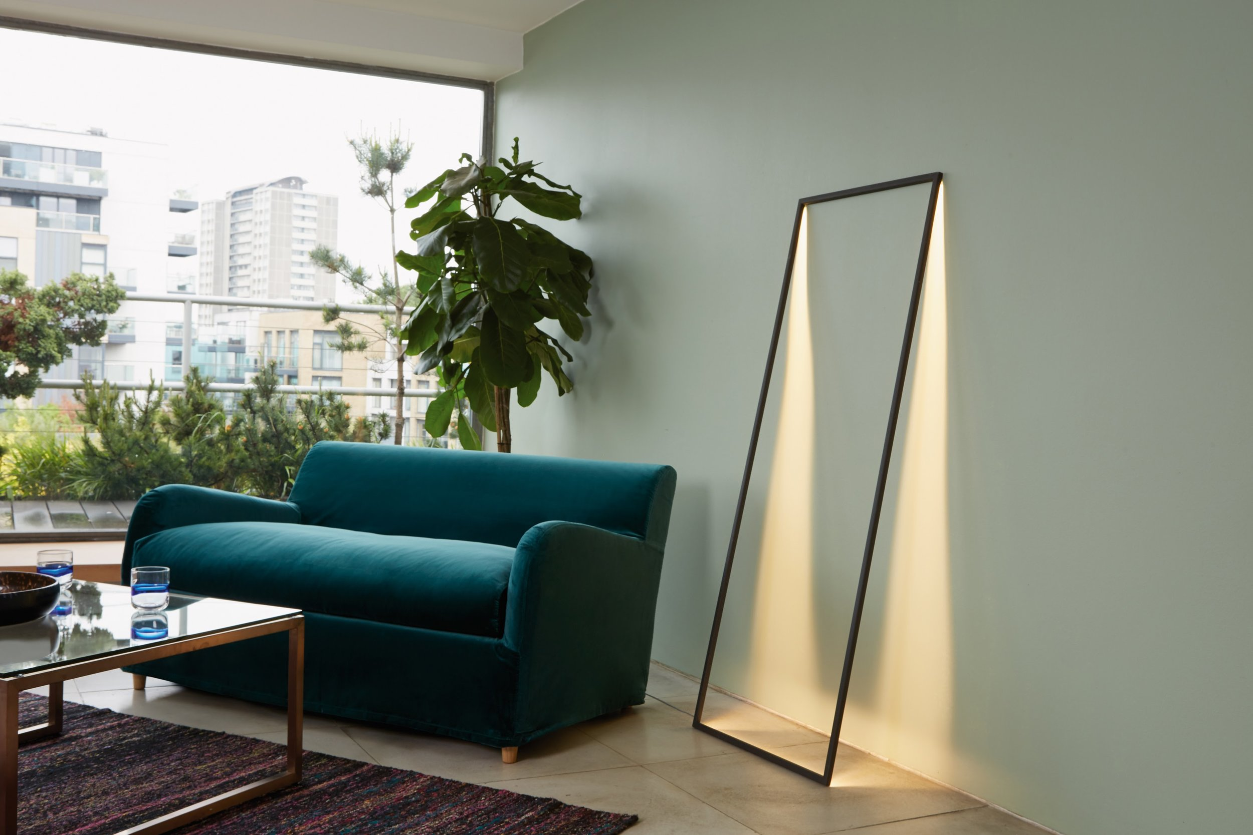 Habitat's Shadow floor lamp - If you want your lighting dramatic, look no further than this visually dazzling piece from Habitat. The Shadow floor lamp is designed as a hollow frame whose thin LED strips cast slices of light against the wall and floor, creating a vivid and conceptual experience. Available for £175 from www.habitat.co.uk, it's a must-have statement installation piece for lovers of art and architecture, and will add a real 'wow' factor to any room in the house!