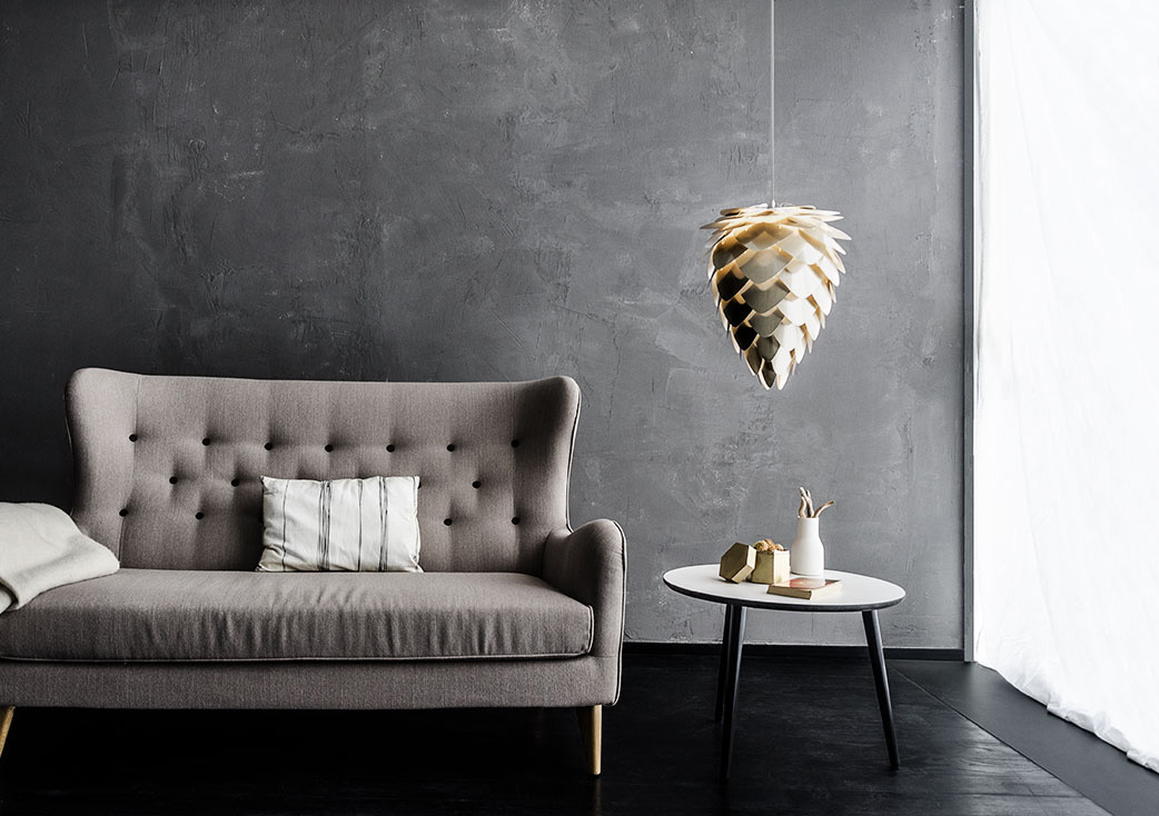 VITA Copenhagen's Conia medium hanging lamp - Available in white, copper, black and gold, and brushed brass, VITA Copenhagen's Conia alludes to the beauty of nature. Ambient light is the result of an attractive cone shape, which adds artistic flair to whichever room you choose to hang it in, as it softly illuminates your home. VITA's focus on Scandinavian design is fully embraced here by designer Soren Ravn Christensen, who has created an exquisite lamp with equal parts craftsmanship and sustainability. Head to www.vitacopenhagen.com to buy yours now, priced £79.