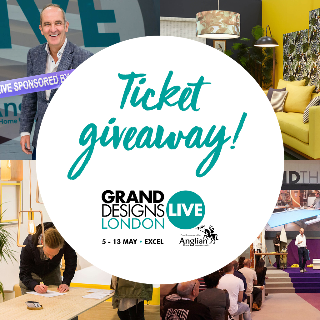 Grand Designs Live 2018 Ticket Giveaway