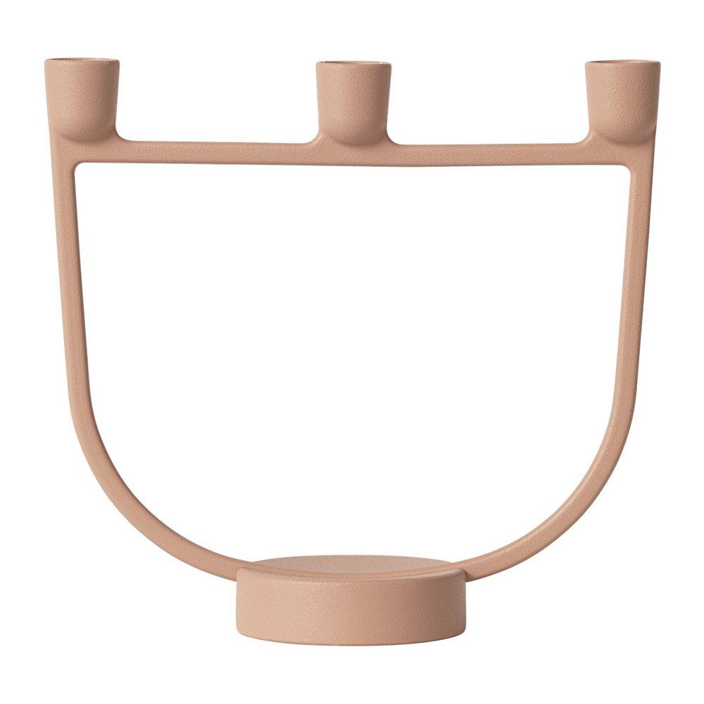 Muuto Open Candelabra Light Terracotta