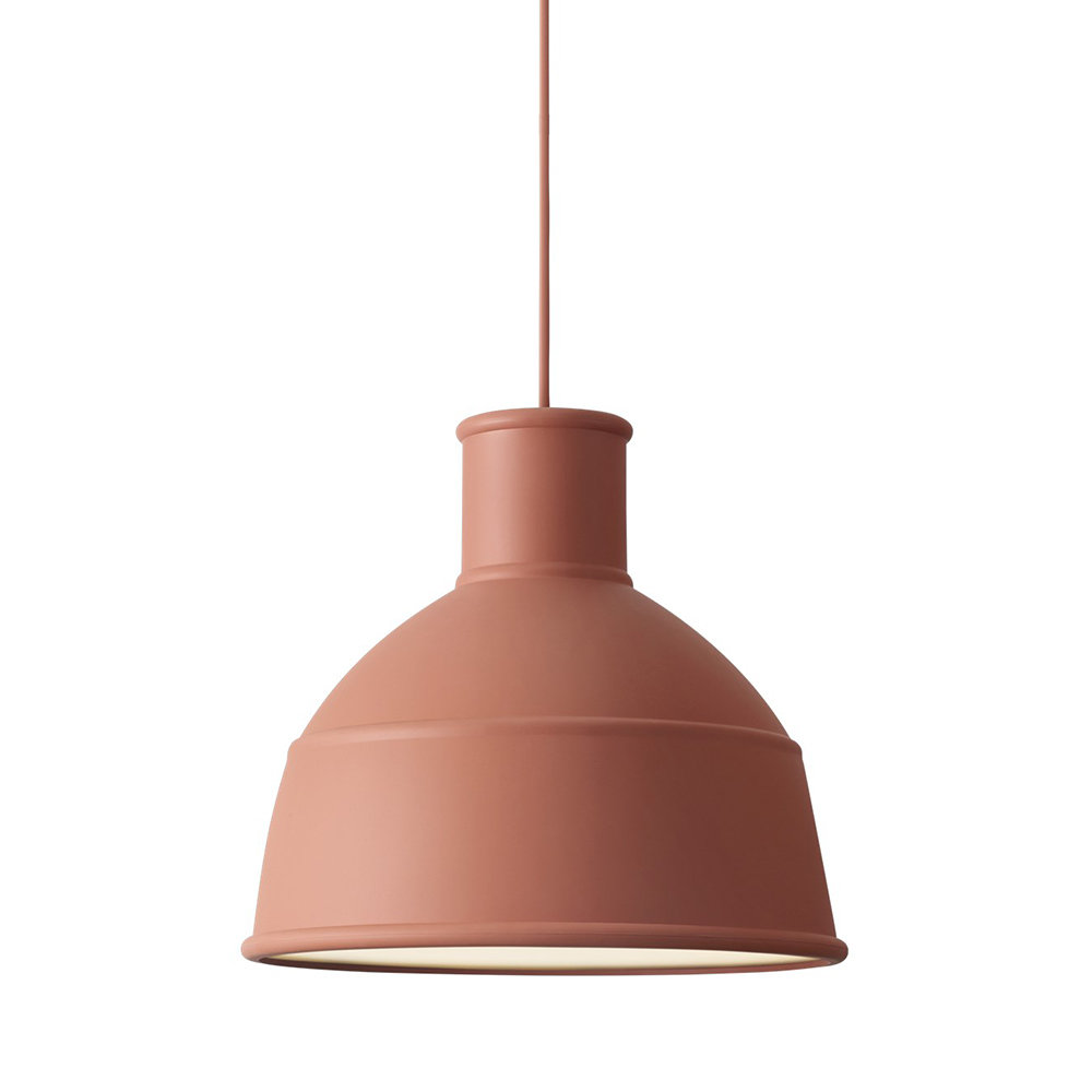 Unfold Pendant Lamp Shade Terracotta