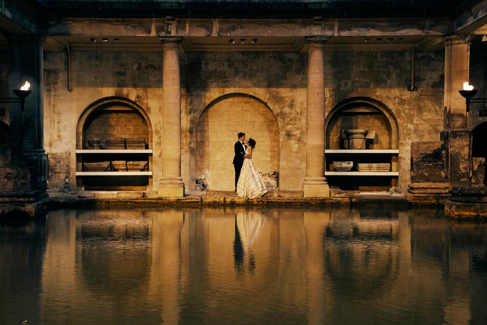 A Thing Like That Sunset Wedding Roman Baths Pump Room.jpg