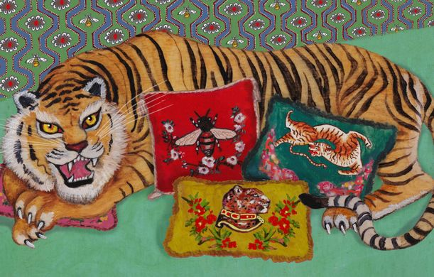 Gucci Tiger with Cushions.jpg