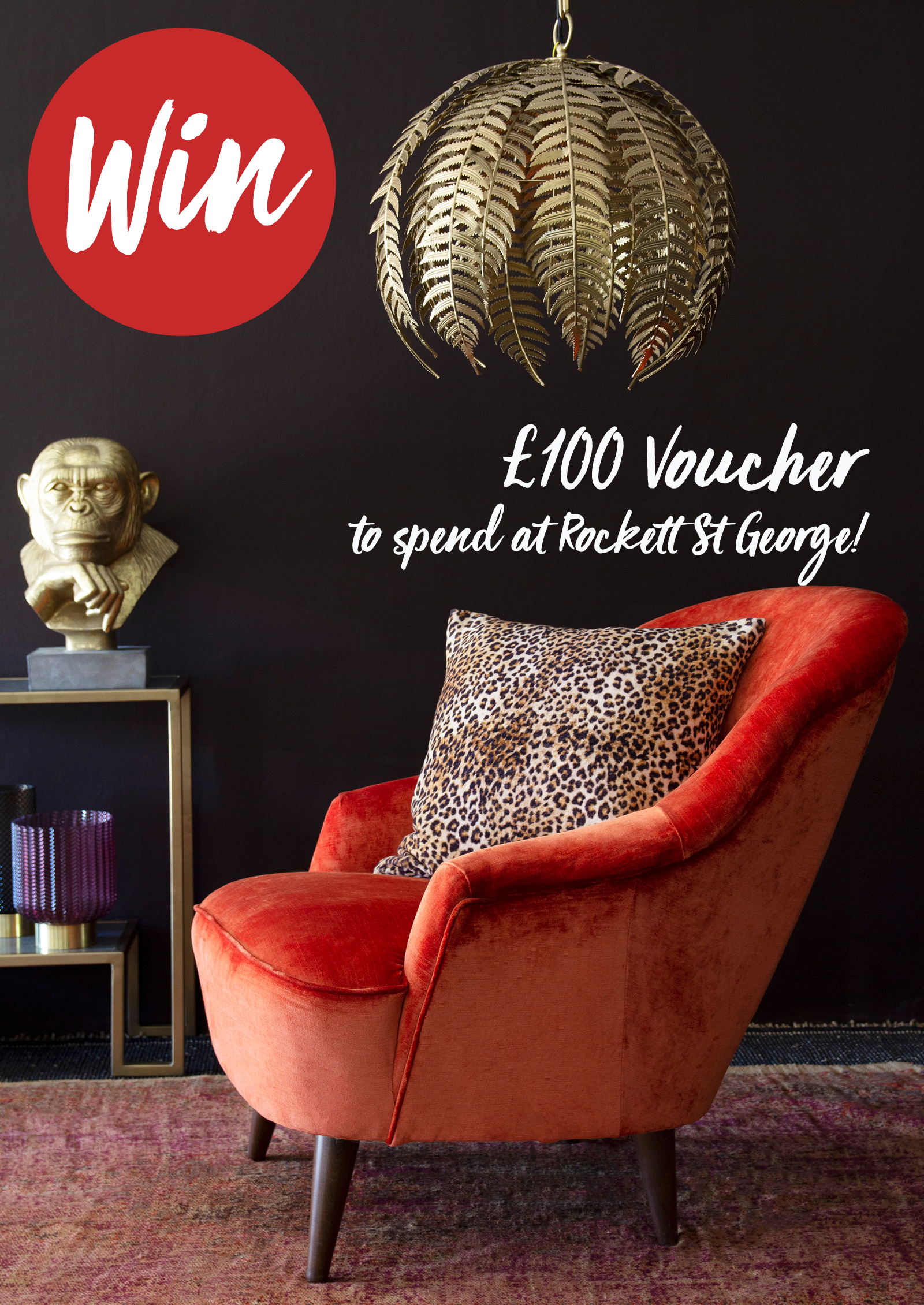 LIV for Interiors / Competition: Win £100 to spend at Rockett St. George