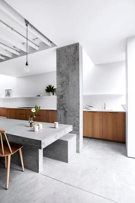 LIV for Interiors / Concrete Kitchen Trend