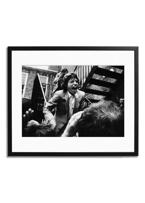 Mick Jagger Print & Frame - £199