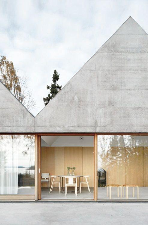 LIV for Interiors /  The Brutalist Concrete Interiors Trend