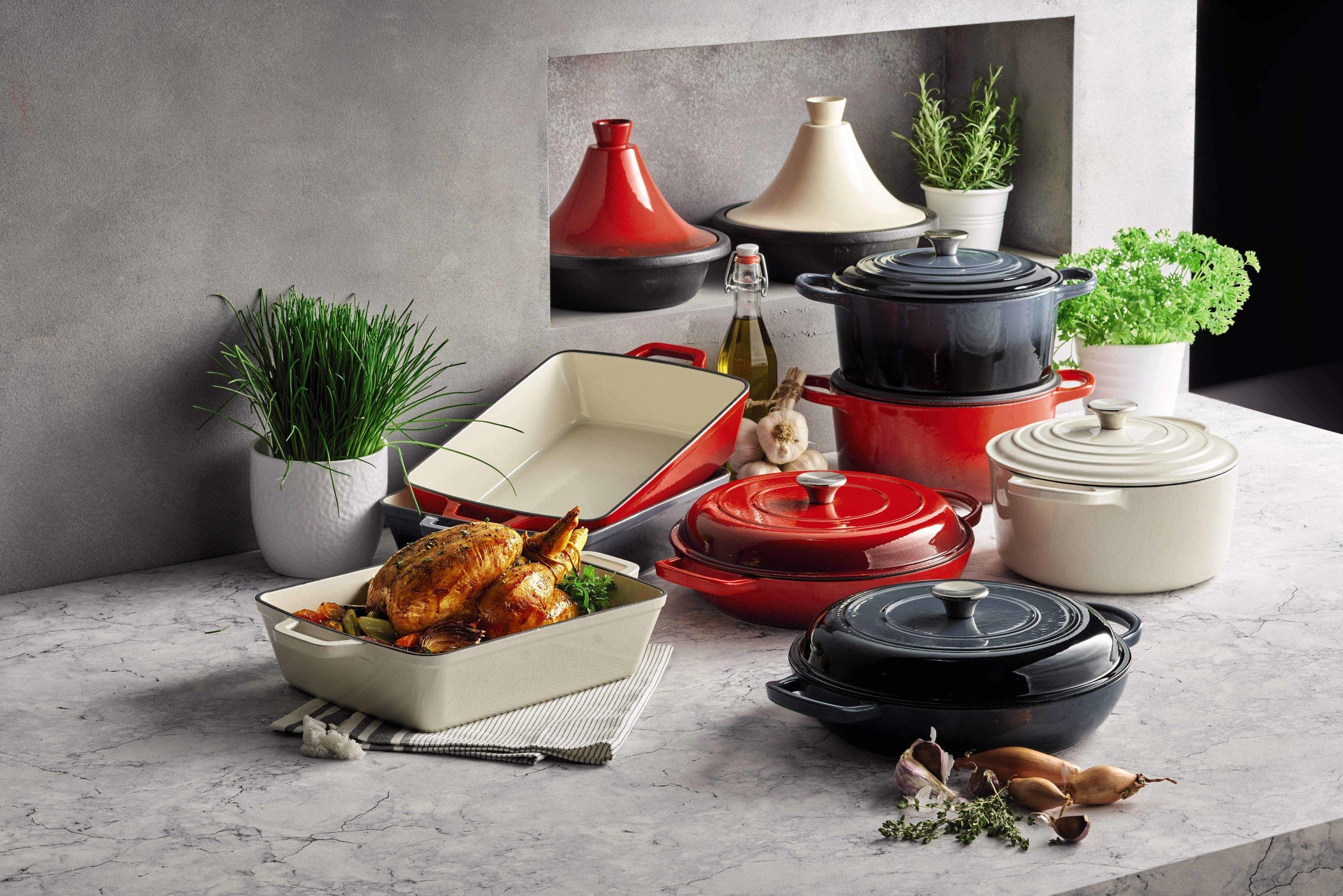 LIV for Interiors / Aldi Cast Iron Cookware Range