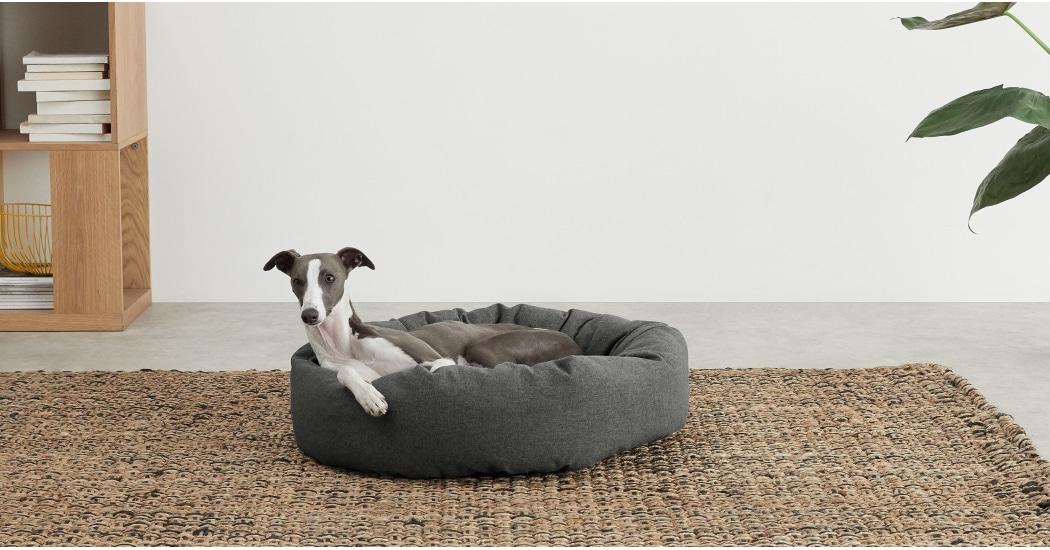 Kysler Grey Pet Bed - £35