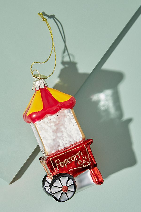 Popcorn Machine Ornament - £14