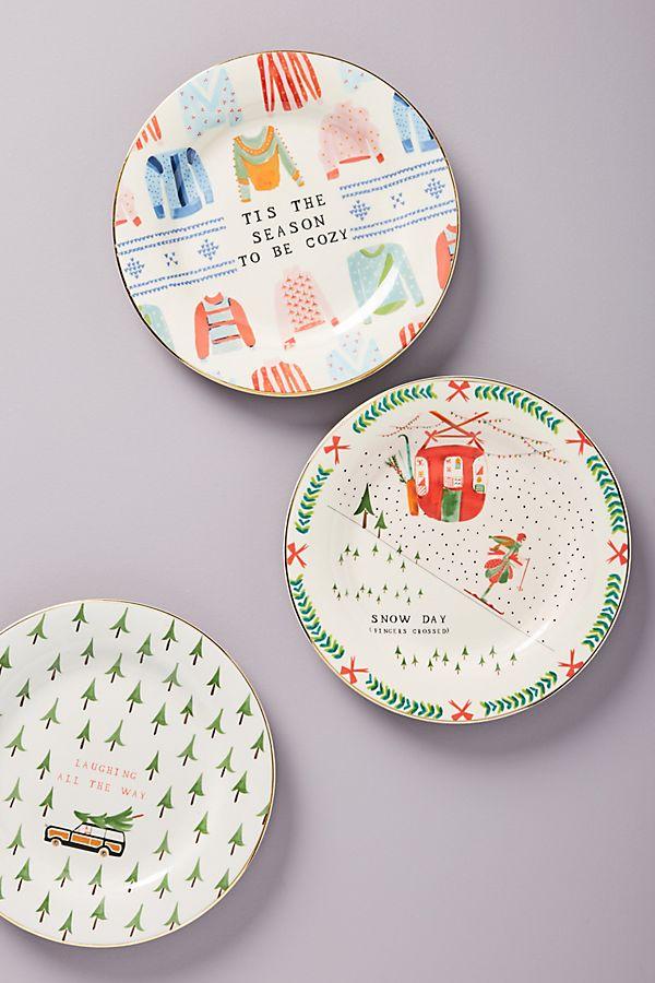 Season's Greetings Plate - £12