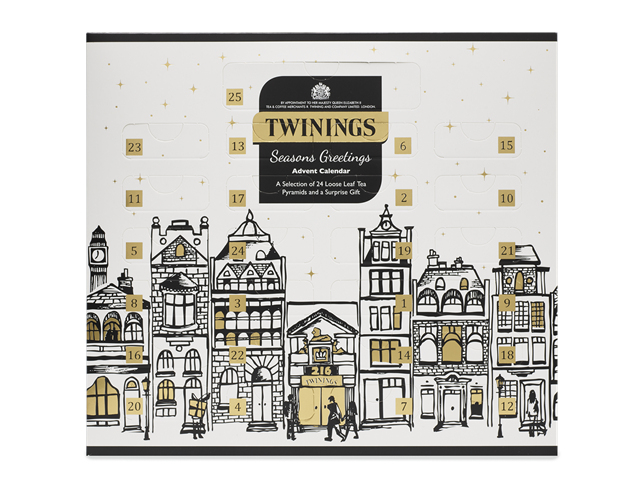 Twinings Christmas Advent Calendar - Make time for tea with the Twinings advent calendar. Revealing a different infusion behind each door, this advent calendar promises to transform your morning cuppa in style.£21.99