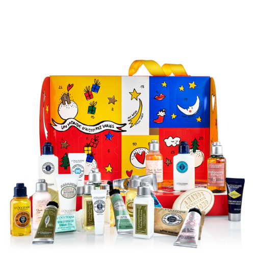 Classic Beauty Advent Calendar from L'Occitane - The luxurious advent calendar from L'Occitane presents a new gift every day with 24 of the brand's most loved products, from shower gel and shampoo to the iconic Verbena Eau de Toilette inspired by Provence.£46.00