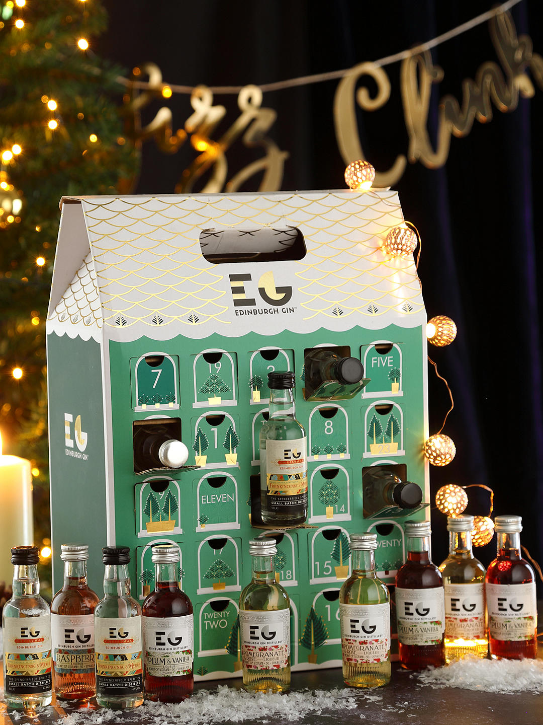 Edinburgh Gin Advent Calendar - Keep your countdown merry with the gin advent calendar from Edinburgh Gin! One for the gin connoisseurs among us, each day reveals a 5cl bottle to create the perfect G&T.£120.00