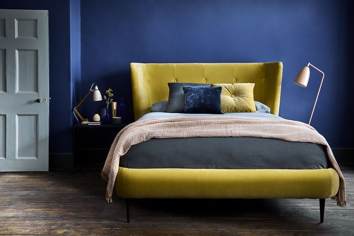 Audrey Bed in Canary Velvet from Sofa.com: from £1310.00