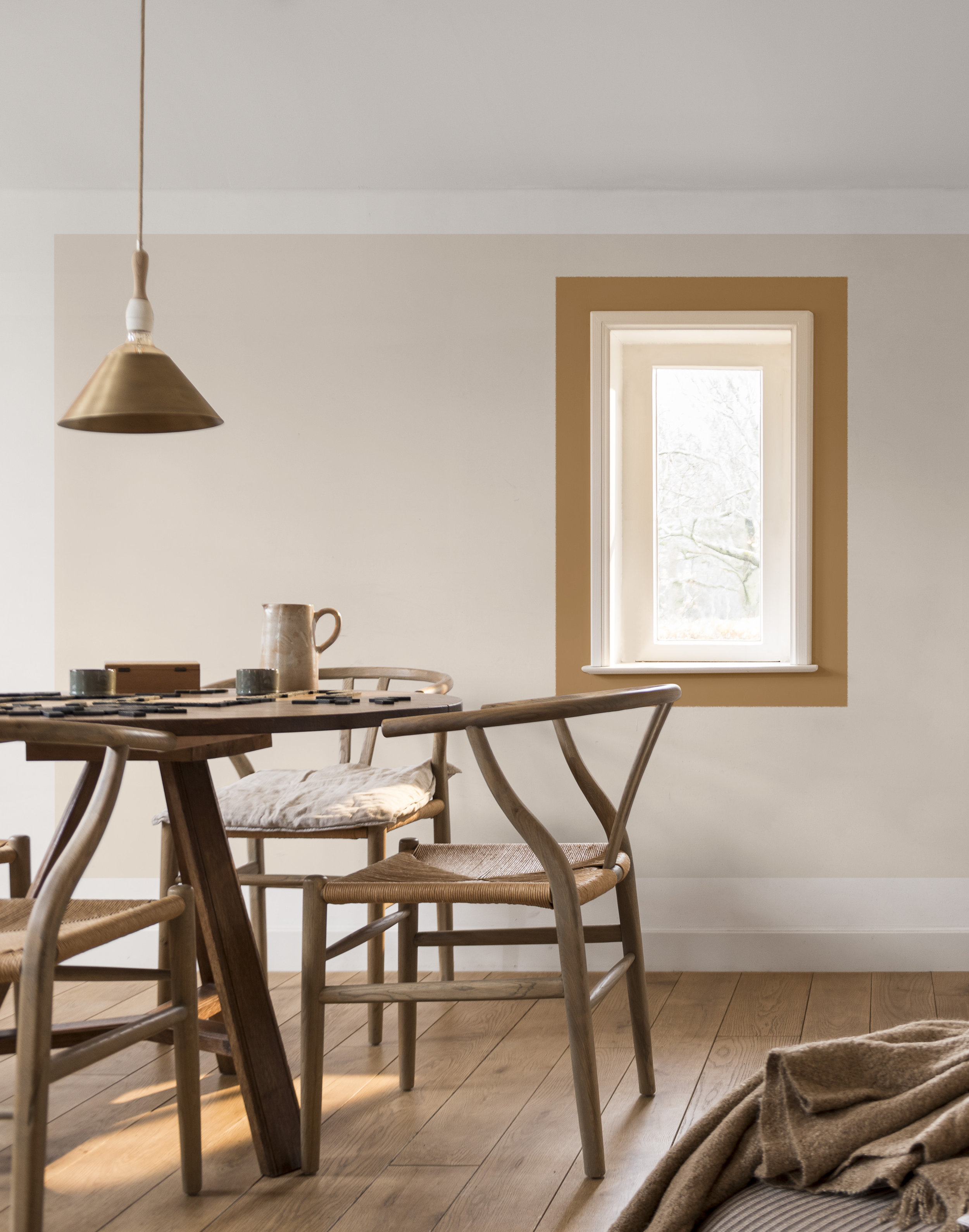 The New Neutrals - White walls have some serious competition in 2019 with the arrival of a new approach to neutral palettes. As colour confidence has grown over the last few years, the demand for pale tones and blush pink has evolved to create a whole new range of neutrals, from Dulux's warm and inviting 2019 Colour of the Year Spiced Honey, to Little Greene's new palette of sumptuous green shades, and the subtle grey tones of Benjamin Moore's Colour of the Year Metropolitan AF-690. For the adventurous, check out Farrow & Ball's new paint colour Sulking Room Pink – the perfect grown-up pink with an indulgent, earthy undertone.Image: Spiced Honey from Dulux, from £20.00 for 2.5L