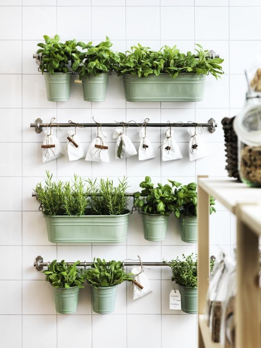 7. Vertical Gardens - Short on space? Who said gardens had to be confined to the outside space? These indoor vertical gardens are just taking off, so get in ahead of the trend and start putting yours together now.