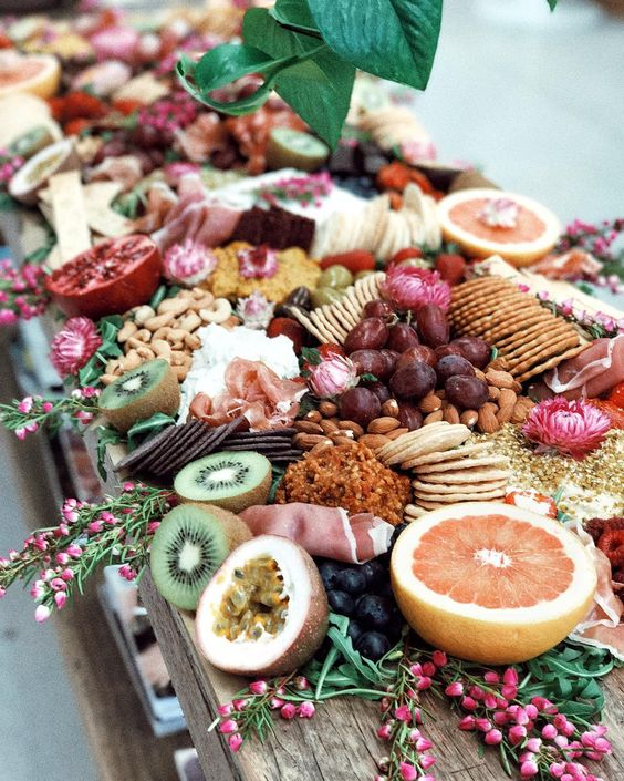 18. Grazing Tables - If you follow the Poor Girls Pantry on Instagram then you'll know these women are the pioneers of the grazing table trend. Their platters are infamous and give the perfect inspiration for your next party spread; the small 'pick n mix' food options take the stress out of cooking up a meal for those you're entertaining.