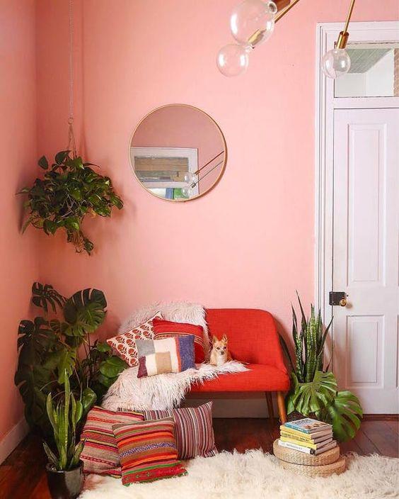 tropical living coral living room.jpg