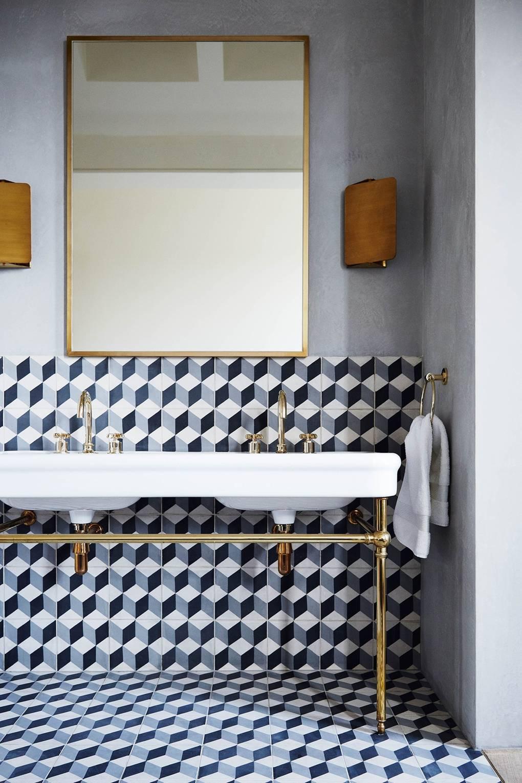Bathroom Design by Suzy Hoodless via House & Garden