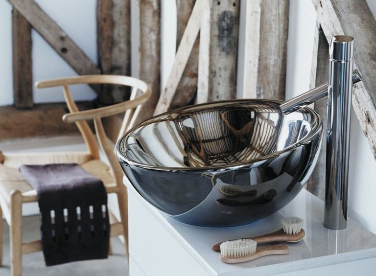 Bol Basin - A celebration of asymmetry, the Bol Basin by Roca is a great way to make a subtle contemporary design statement. A wide-rimmed freestanding bowl, the Bol will act as a stylish focal point in both master bathrooms or cloakroom spaces.www.uk.roca.com
