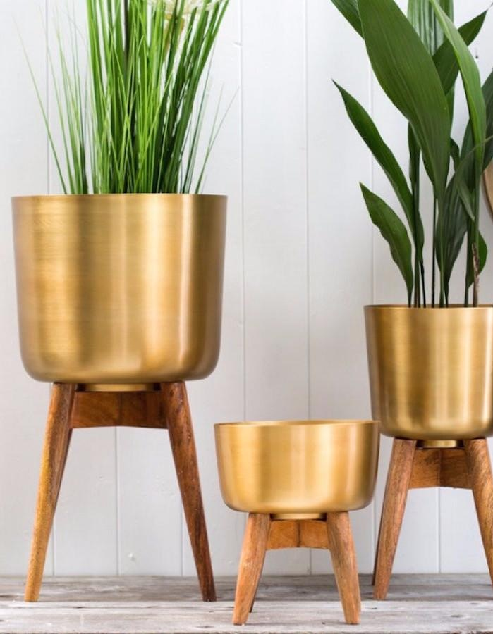 The Forest & Co Brass Plant Pot £60.00