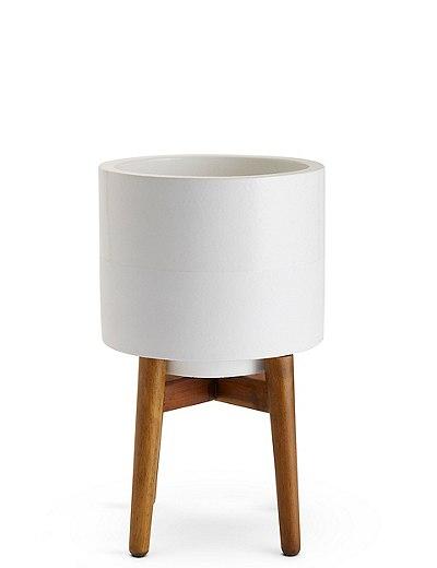 M&S - White on Legs Planter - £19.50