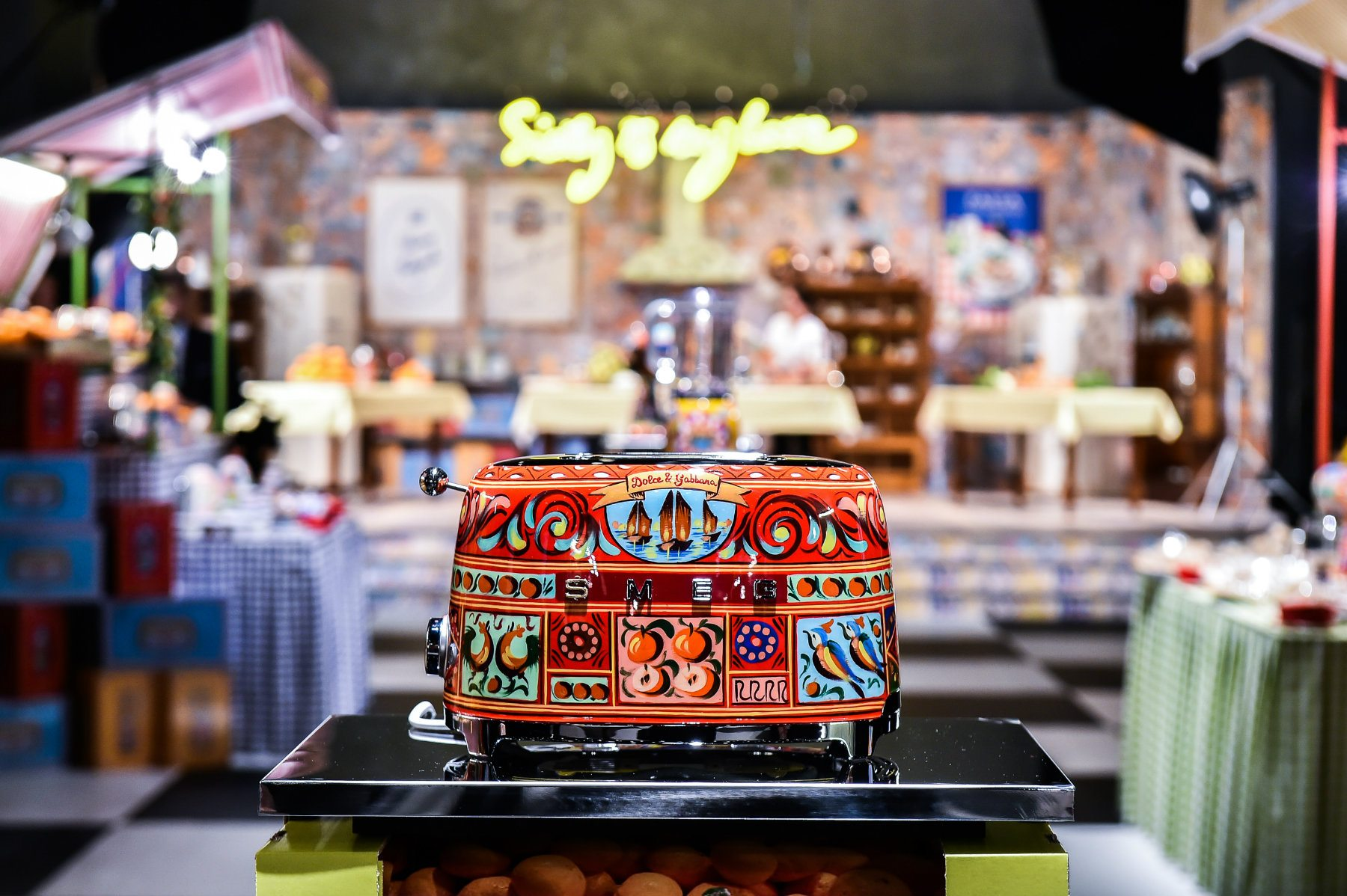 Dolce&Gabbana for smeg -