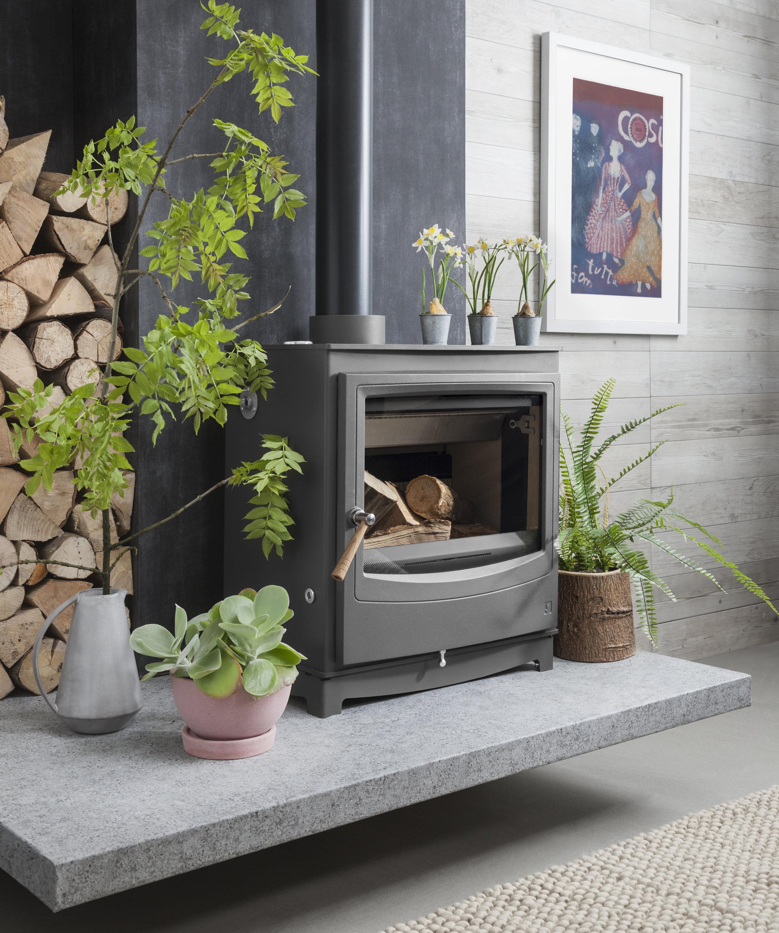 Farringdon Catalyst Wood Burning Stove from Arada