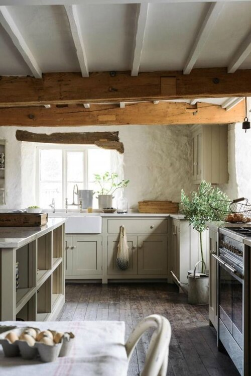 21 Beautifully Rustic English Country Kitchen Design Details to Add Charming European Country Style - Hello Lovely copy.jpeg