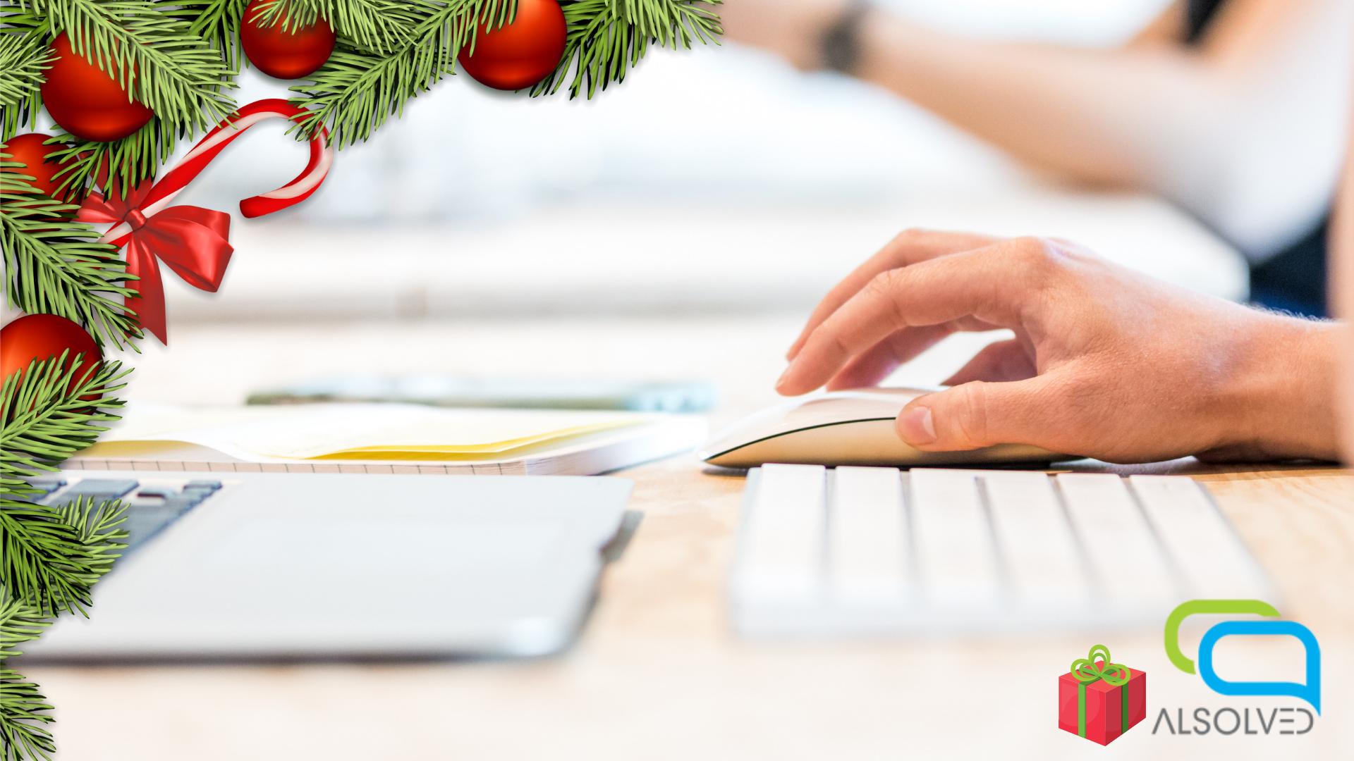 Il web può allietare il momento che fa arrivare esasperati alla Vigilia: la ricerca dei regali.