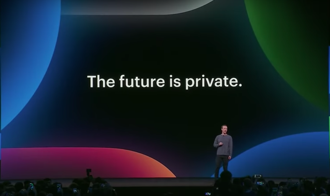 Mark Zuckerberg alla Conferenza annuale per i Facebook developer (F8) 2019