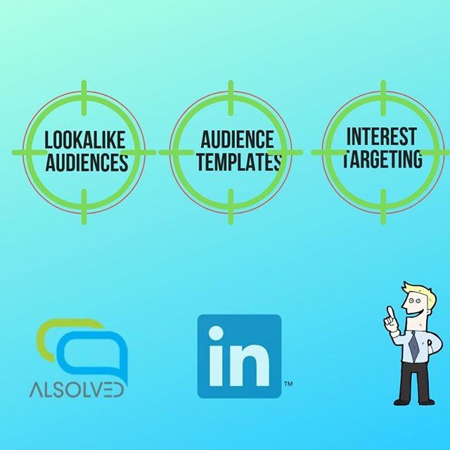3 Nuove opzioni per centrare il tuo obiettivo e aumentare il tuo ROI! 💯  LinkedIn ha da poco introdotto 3 nuove opzioni per individuare in maniera più precisa il tuo target 👍💯 🔹Segmenti di pubblico simile ➡ combina i tratti del vostro target ideale con quelli dei vostri attuali clienti 🔹Modelli di Pubblico ➡ individua un segmento di mercato appropriato per i vostri servizi 🔹Bing Search Data ➡ incrocia la vostra ricerca con i dati forniti dal motore di ricerca Bing  Restate sempre aggiornati😏👍💯 💻 www.alsolved.org . . . . #linkedin #persuasione #copywriting #alsolved #digitalmarketing #digitalmarketingagency #comunicazionedigitale #comunicazione #agenziacomunicazione #ads #advertising #advertisingagency #googleads #googleadwords #strategiadigitale #webagency #digitaladvertising #digitalmarketingagency #onlineadvertising #digitalmarketingstrategy #entrepeneur #rome #socialmediamarketing #marketingonline #workflow #socialmediagency #socialmediaexpert #socialmedia #consulenza