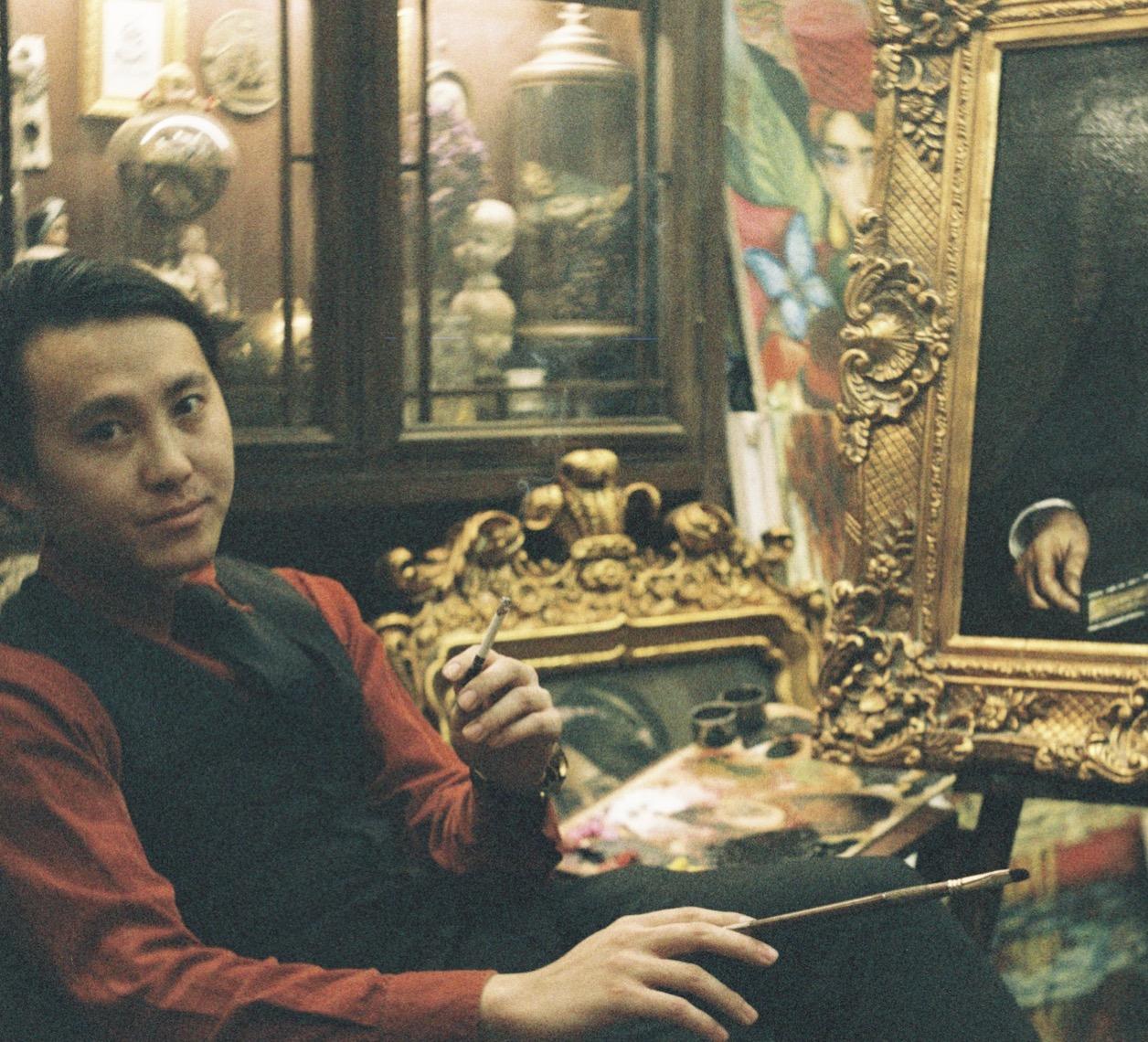 Dalong Ge (MUYE)   Chief Artistic Designer    Cam Rivers Publishing & Arts