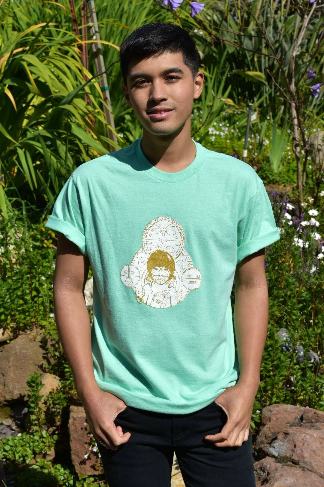 Teal Taino T