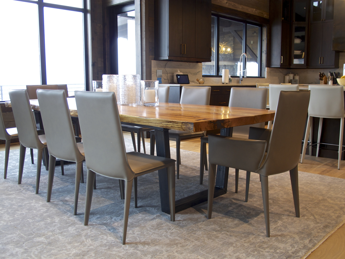 red oak and steel dining table.jpg