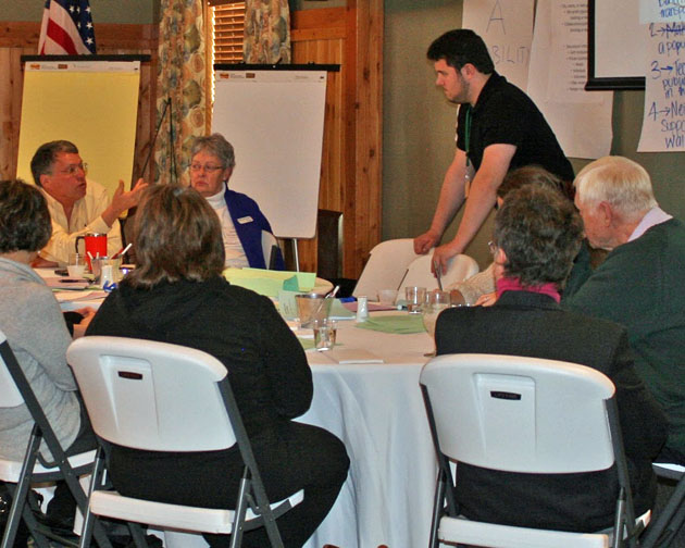 Sponsored  Senior Transportation Forums  facilitated by Martin Carcasson with the CSU Center for Public Deliberation.