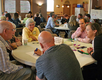 Discussions on housing options.
