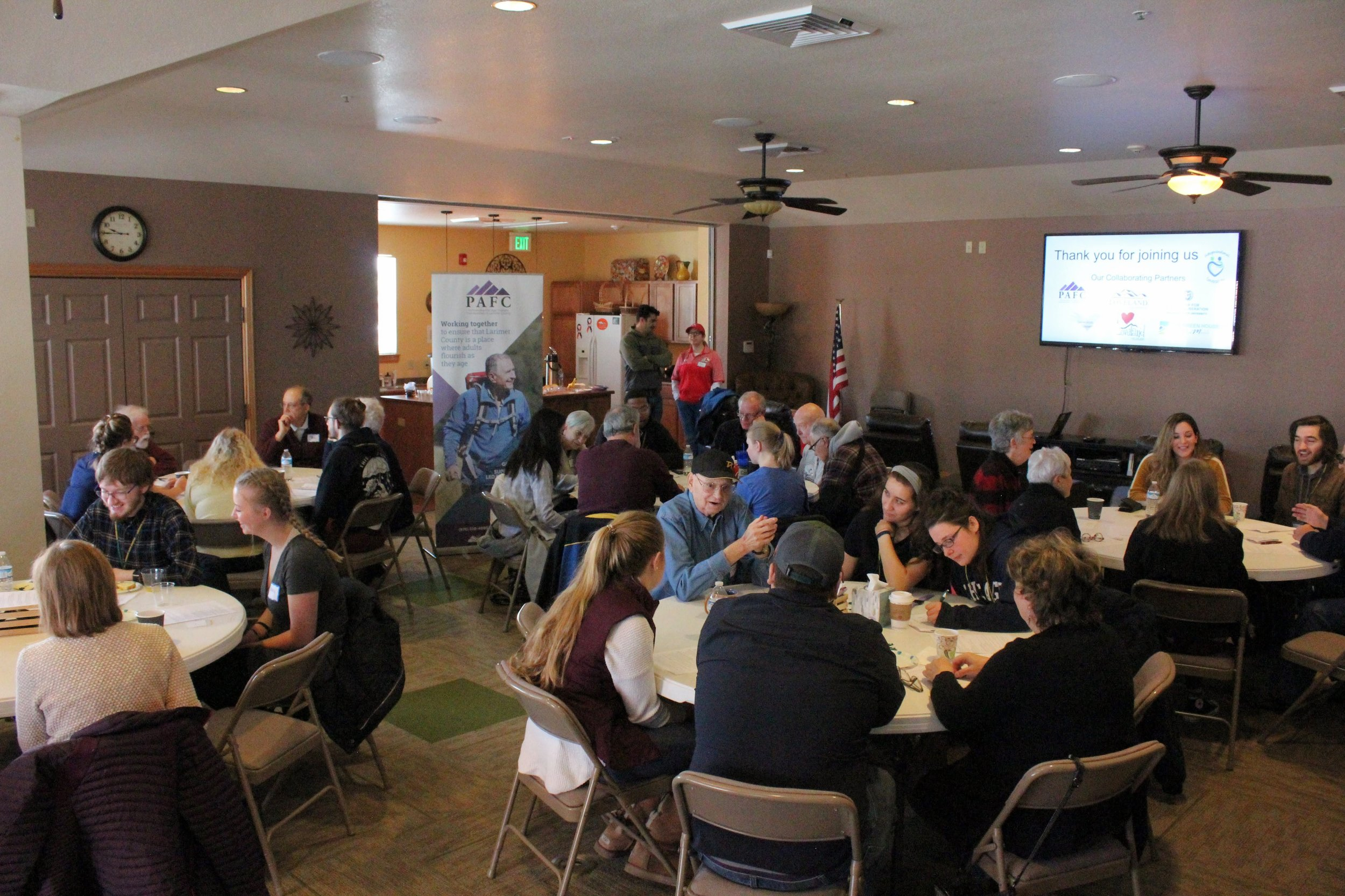 Our first conversation event held Saturday, February 23 2019 at the Mirasol Event Center. Click  here  for more photos of the event.