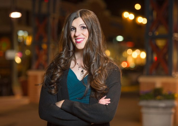 Photo of Danica Roem, courtesy of her campaign.