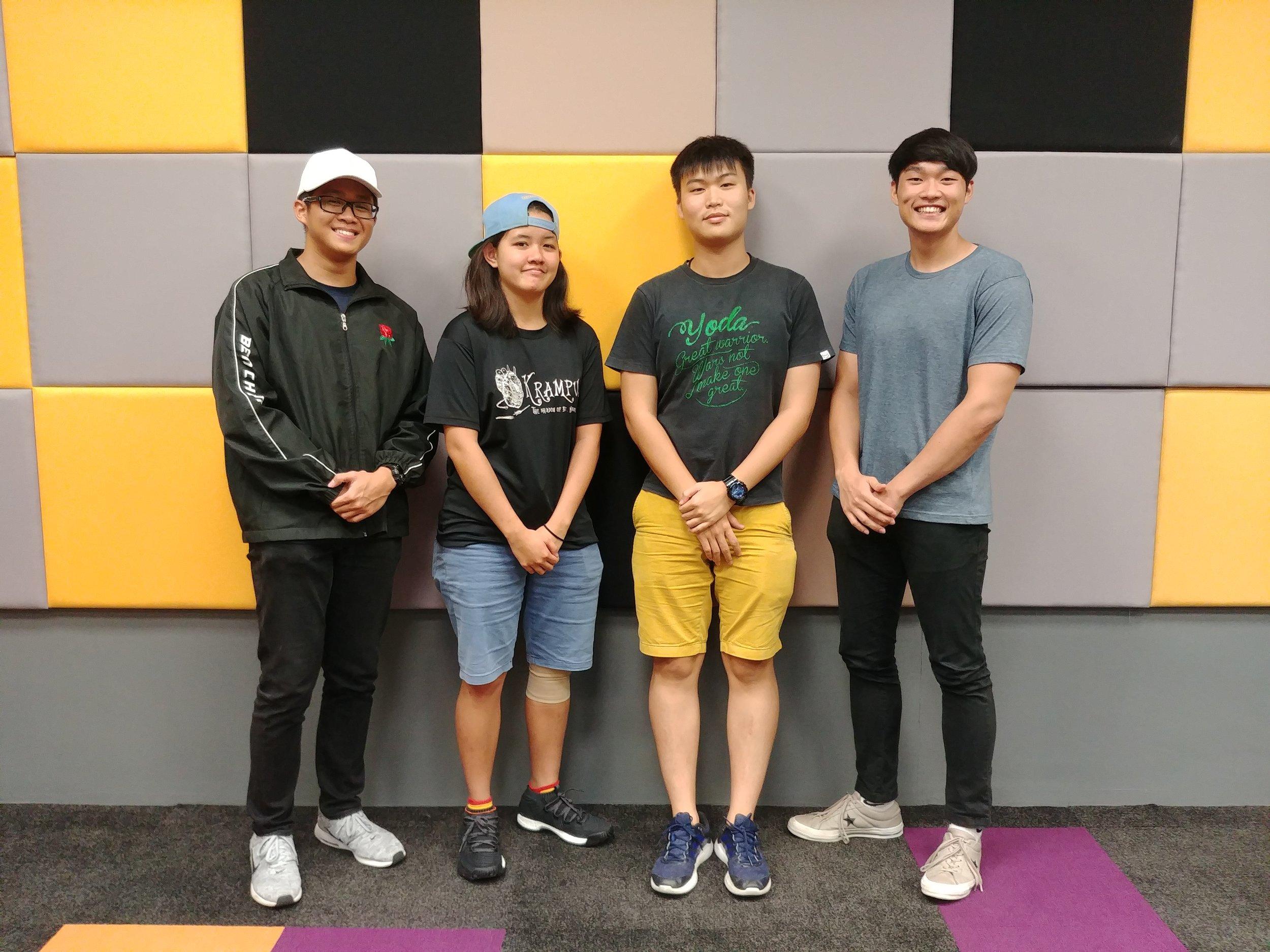 4 Flyers - Jarell Lim En Yu,Zheng Jin He,Benedict Chen Fu Shen,Mavis Ng Yu HanSingapore
